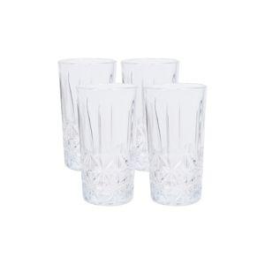 4 részes long drink üvegpohár készlet