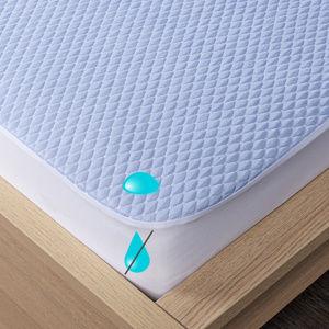 4Home Cooler körgumis vízhatlan hűsítő matracvédő, 160 x 200 cm + 30 cm, 160 x 200 cm