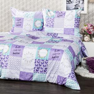 4Home Lavender micro ágynemű, 160 x 200 cm, 70 x 80 cm, 160 x 200 cm, 70 x 80 cm