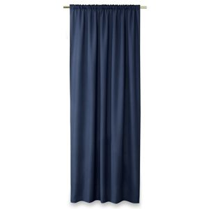 AmeliaHome Oxford Pleat függöny, navy, 140 x 250 cm