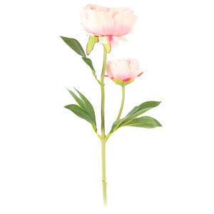 Bazsarózsa művirág, világosrózsaszín, 58 cm