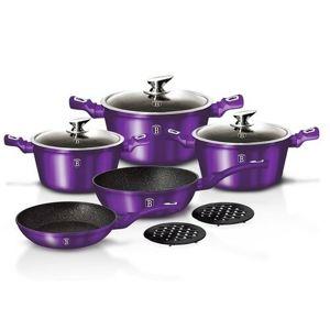 Berlinger Haus 10 részes edénykészlet, Royal Purple Metallic Line