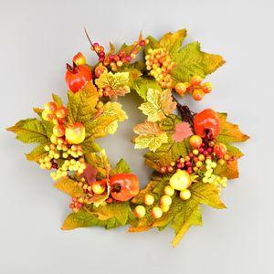 Berry őszi koszorú, 25 cm