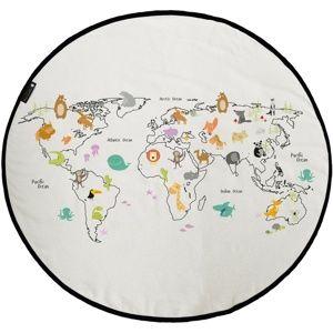 Butter Kings Around the world gyerek játszószönyeg, 130 cm