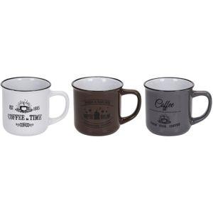 Coffee agyagbögre készlet 330 ml, 3 db