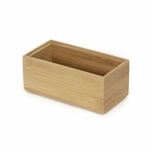 Compactor Bamboo Box S tároló rendszerező,15 x 7,5 x 6,5 cm
