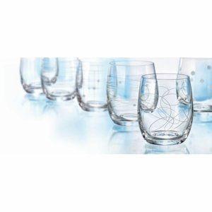 Crystalex 6-részes Whisky-s pohár készlet, 300 ml