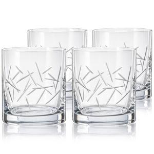 Crystalex CXBR786 4 részes whisky-spohár készlet,280 ml