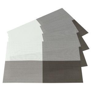 DeLuxe alátétek világos barna, 30 x 45 cm , 4 db-os szett