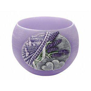 Dekorációs gyertya Lavender Kiss lampion