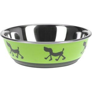 Doggie treat kutyatál, zöld, átmérő: 17,5 cm