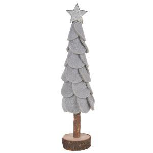 Felt tree karácsonyi dísz, szürke