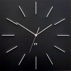 Future Time FT1010BK Square black Design falióra, 40 cm