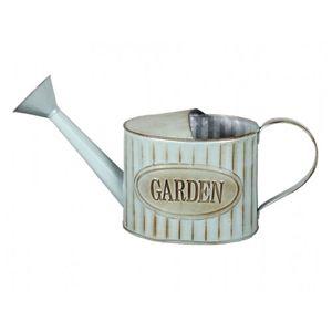 Garden retró fém teáskanna szórófejjel, kék, 38 cm