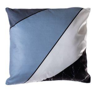Geometry párna, kék, 40 x 40 cm
