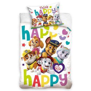Gyermek pamut ágynemű kiságyba, Mancs őrjárat, Be Happy, 100 x 135 cm, 40 x 60 cm