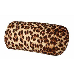 Henger alakú golyó tӧltetű párna leopárd, barna