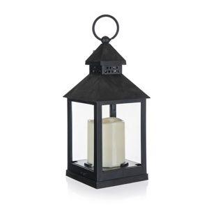 Home Decor Lámpás LED gyertyával, 10 x 10 x 23 cm