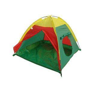 JOY PARK Iglu I gyerek sátor sárga-zöld-piros