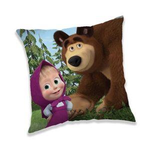 Jerry Fabrics Mása és a medve Forest 02 párna, 40 x 40 cm