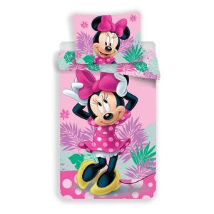 Jerry Fabrics Minnie Tropic micro gyermek ágynemű, 140 x 200 cm, 70 x 90 cm