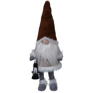 Koopman Evindal karácsonyi törpe, sötétbarna, 51 cm