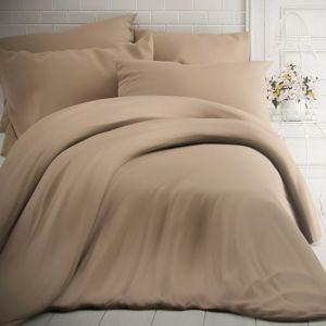 Kvalitex pamut ágynemű, bézs, 140 x 200 cm, 70 x 90 cm