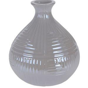 Loarre váza, fehér, 12,5 x 14,5 cm