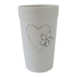 Lovely kerámia váza, 11 x 18 cm