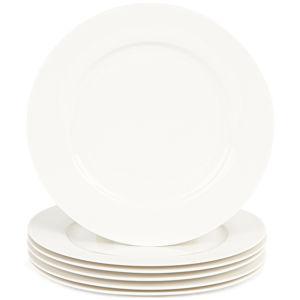 Mäser Clasico desszertes tányér készlet, 20,5 cm,6 db, fehér