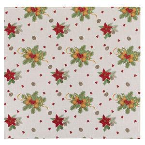 Masni karácsonyi abrosz, 100 x 100 cm