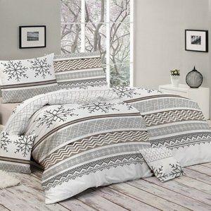 Matějovský márkájú, Snow pamut ágynemű, 140 x 200 cm, 70 x 90 cm, 140 x 200 cm, 70 x 90 cm