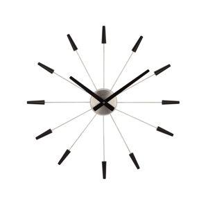 Nextime Plug Inn 2610zw Falióra fekete, átmérő 60 cm