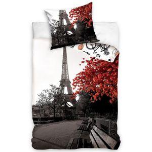 Ősz Párizsban pamut ágynemű, 140 x 200 cm, 70 x 90 cm
