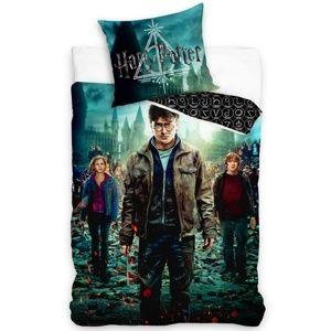 Pamut ágyneműhuzat Harry Potter és varázslók, 140 x 200 cm, 70 x 90 cm