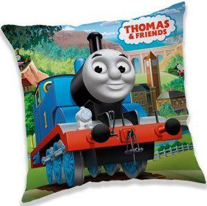 Párna Thomas, a gőzmozdony 03, 40 x 40 cm