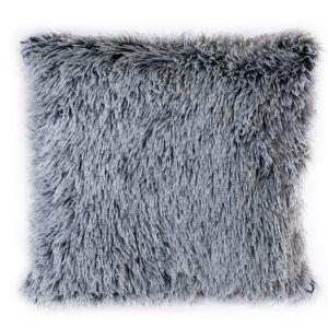 Peluto párnahuzat, fehér-fekete, 40 x 40 cm