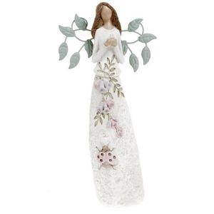 Polyresin dekoráció Jázmin a virágtündér, 25 cm