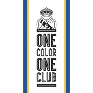 Real Madrid One Color One Club törölköző,, 70 x 140 cm