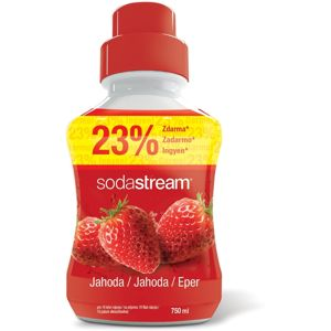 SodaStream Szörp Eper, 750 ml
