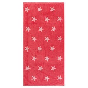 Stars törölköző, rózsaszín, 70 x 140 cm