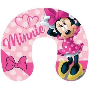 Utazópárna Minnie pink, 40 x 40 cm