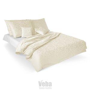 Veba Ornella damaszt ágynemű, Ornament, tejszín, 140 x 200 cm, 70 x 90 cm, 140 x 200 cm, 70 x 90 cm