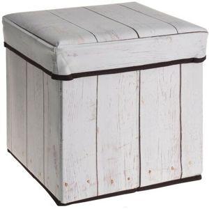 Wooden Maple ülőrészes tárolódoboz, 30 x 30 x 30 cm